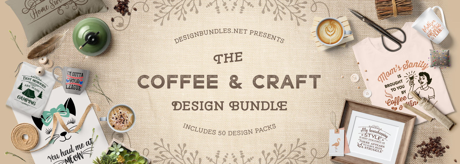 The Coffee and Craft Bundle Cover