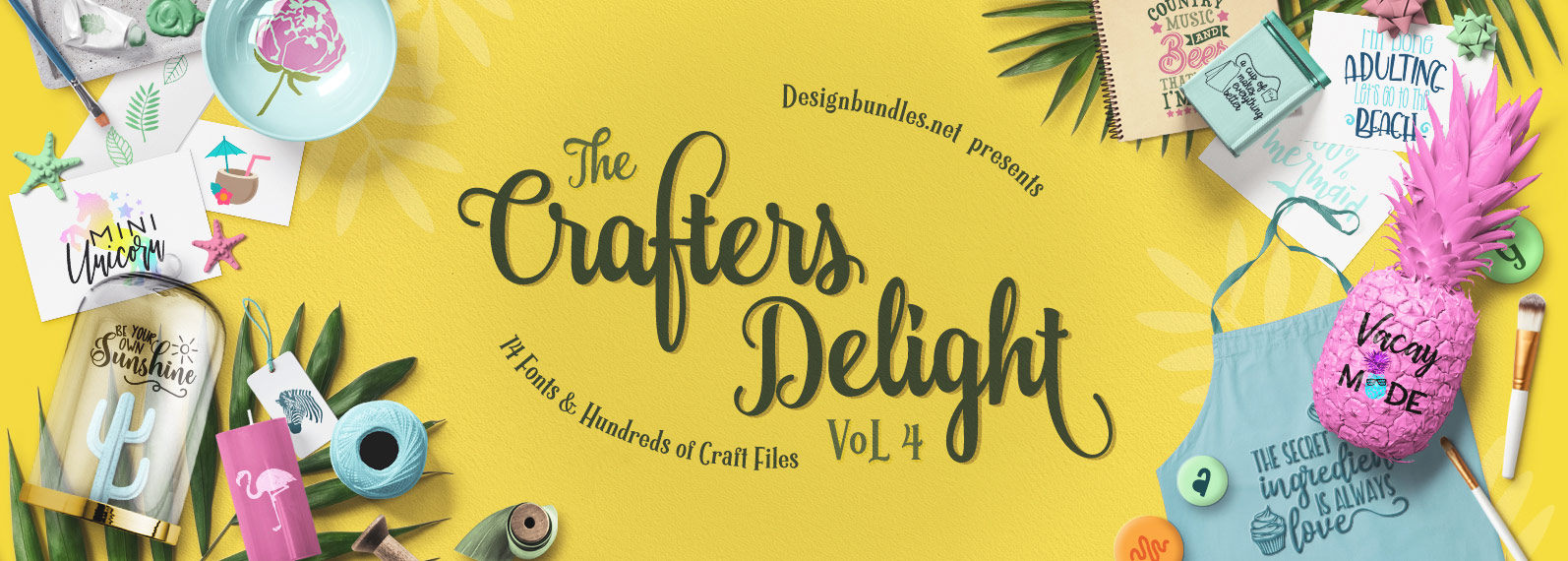 Crafters Delight Volume IV Cover