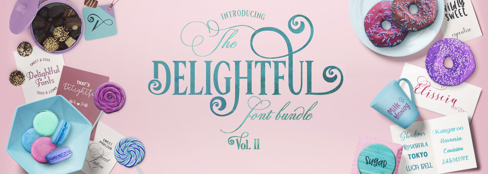 The Delightful Bundle Vol II Cover