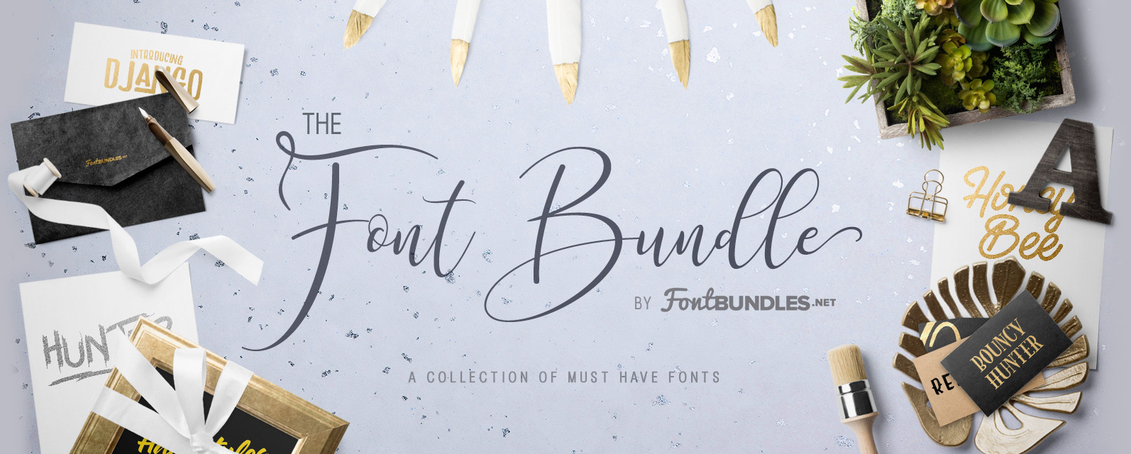 The Font Bundle Cover