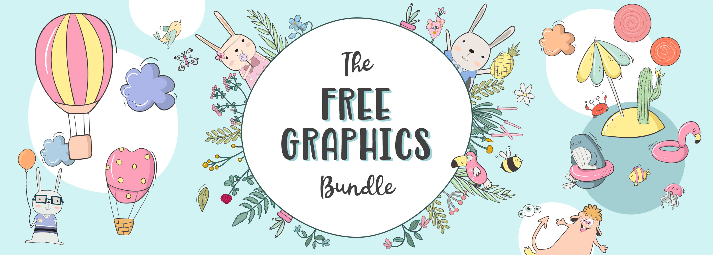 The Free Graphics Bundle  Cover