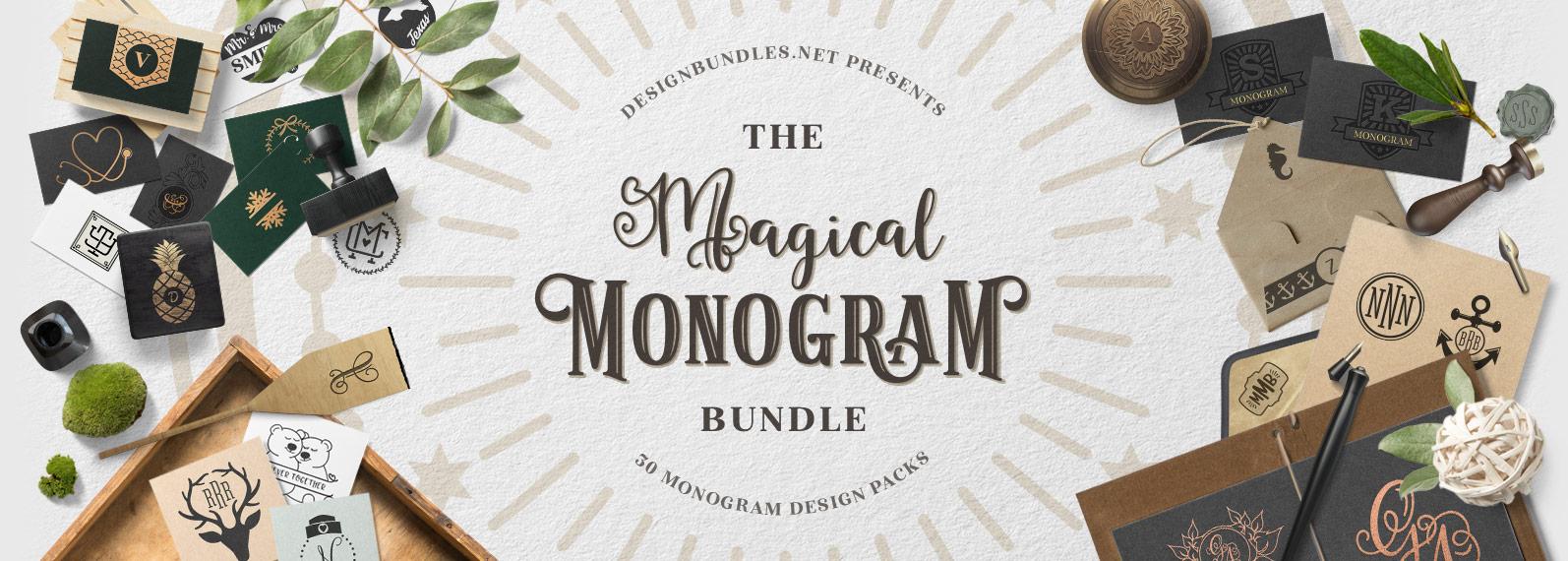 The Magical Monogram Bundle Cover