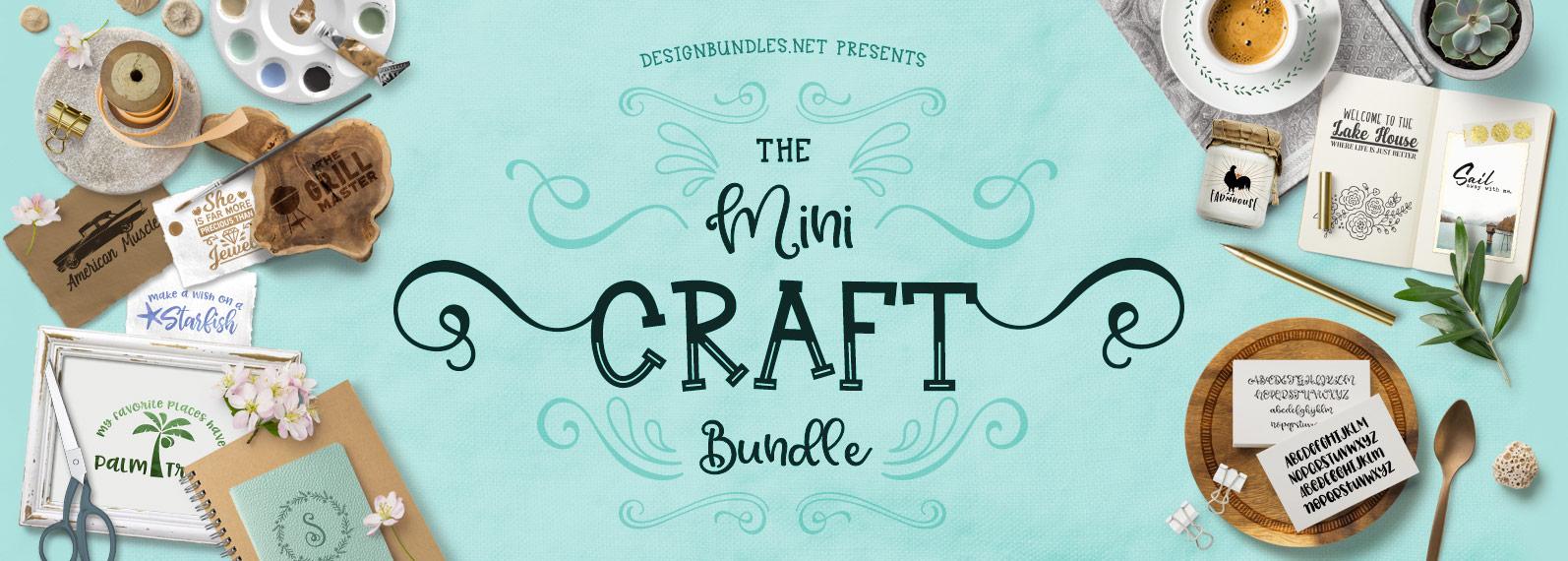 The Mini Craft Bundle Cover