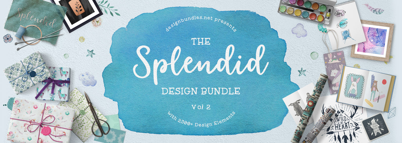 The Splendid Design Bundle Volume II Cover