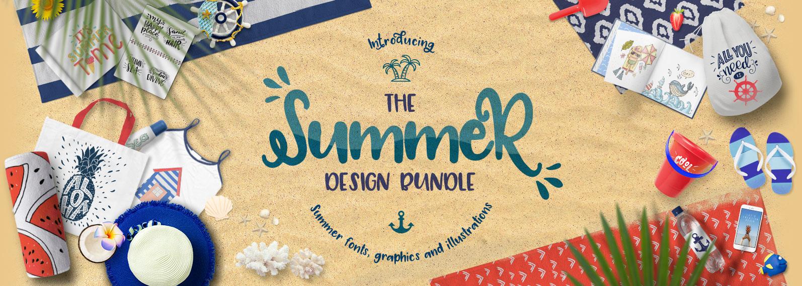 The Summer Design Bundle Cover