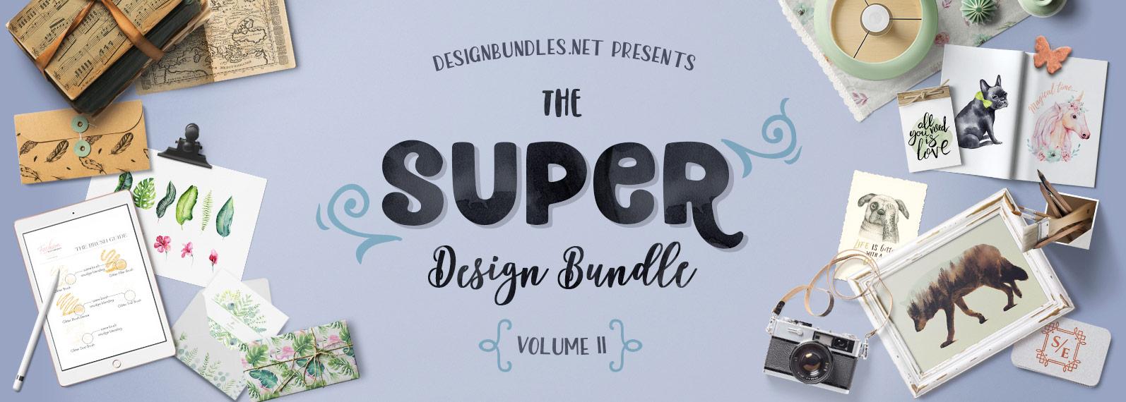 The Super Design Bundle Vol II Cover