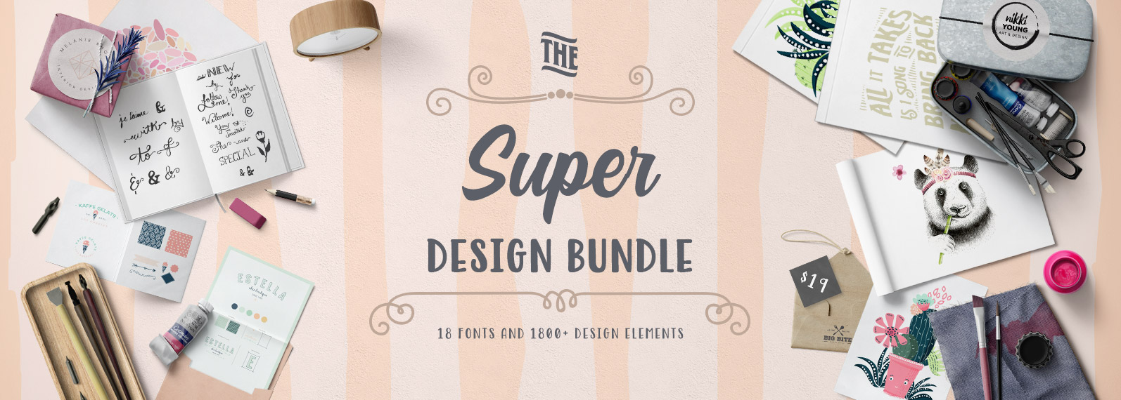 The Super Design Bundle Cover