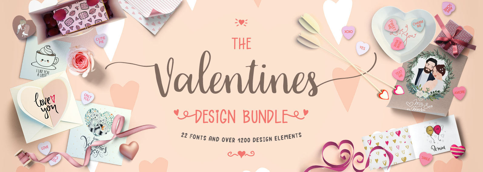 The Valentines Design Bundle Cover