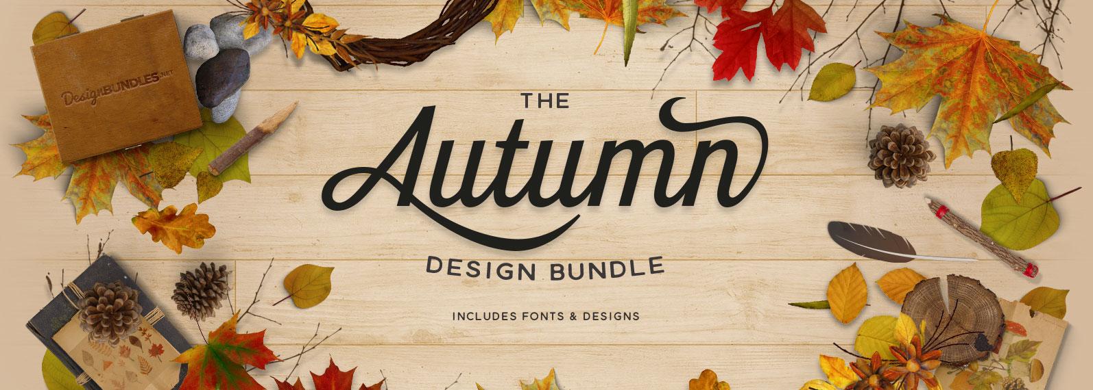 The Autumn Design Bundle Cover