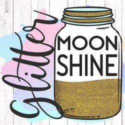 Glitter Moonshine SVG avatar