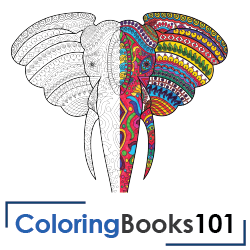 Geometric Patterns Coloring Book 30 Designs