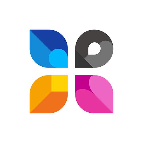3D Home   Architect Logo Design Template For Interior U0026 Exterior Services