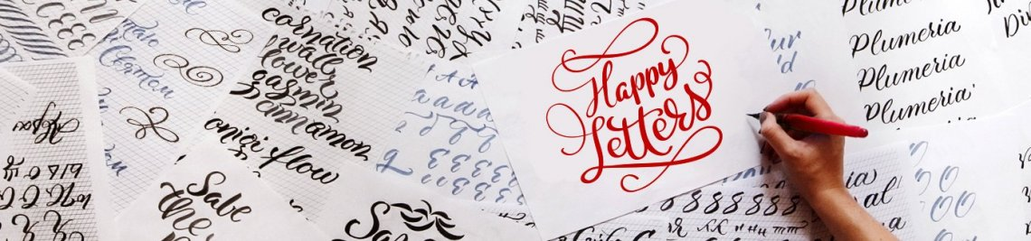Happy Letters Profile Banner