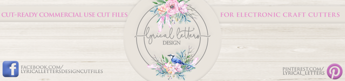 Lyrical Letters Design Profile Banner
