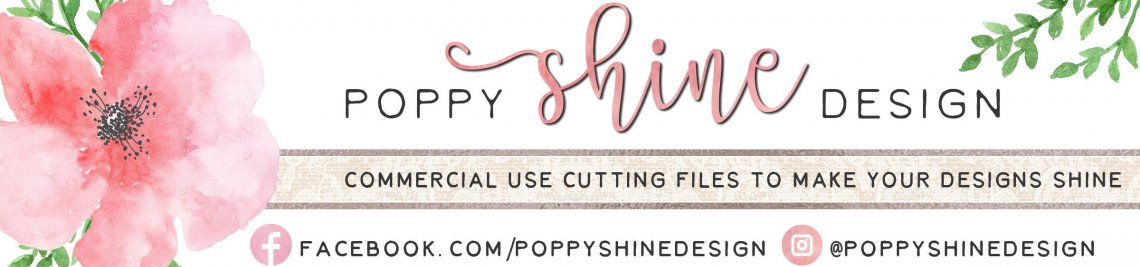 Poppy Shine Design Profile Banner