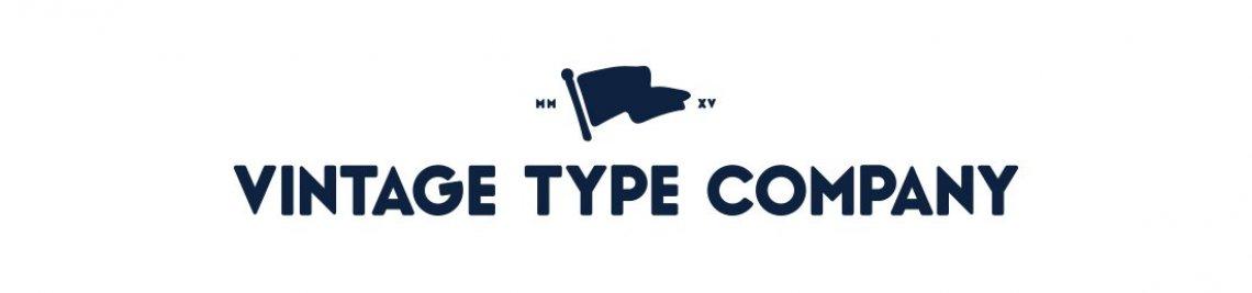 Vintage Type Co. Profile Banner