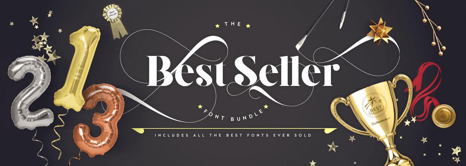 Best Seller Font Bundle Cover