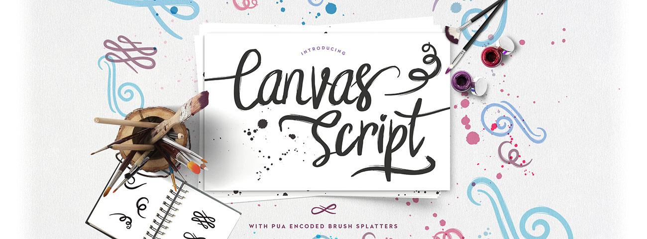 Canvas Script Cover