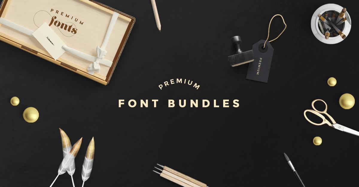 Premium Font Bundles
