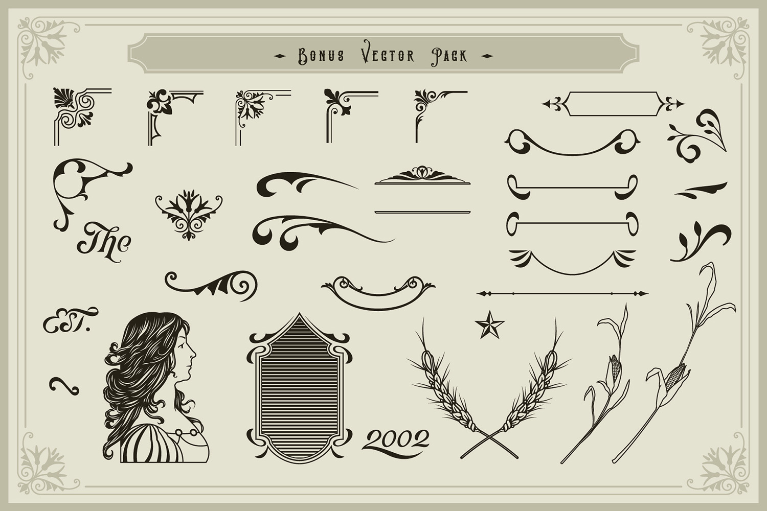 Victorian Fonts Collection example image 9