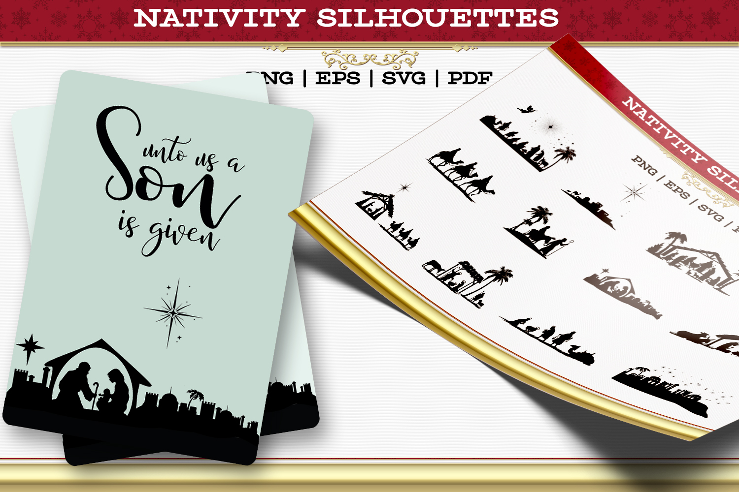 Nativity Silhouettes example image 1