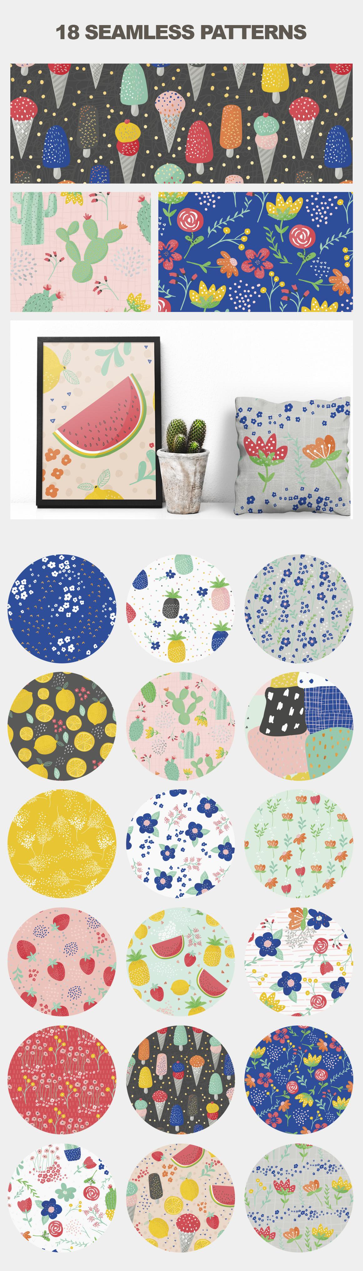 Fresh Summer Patterns example image 3