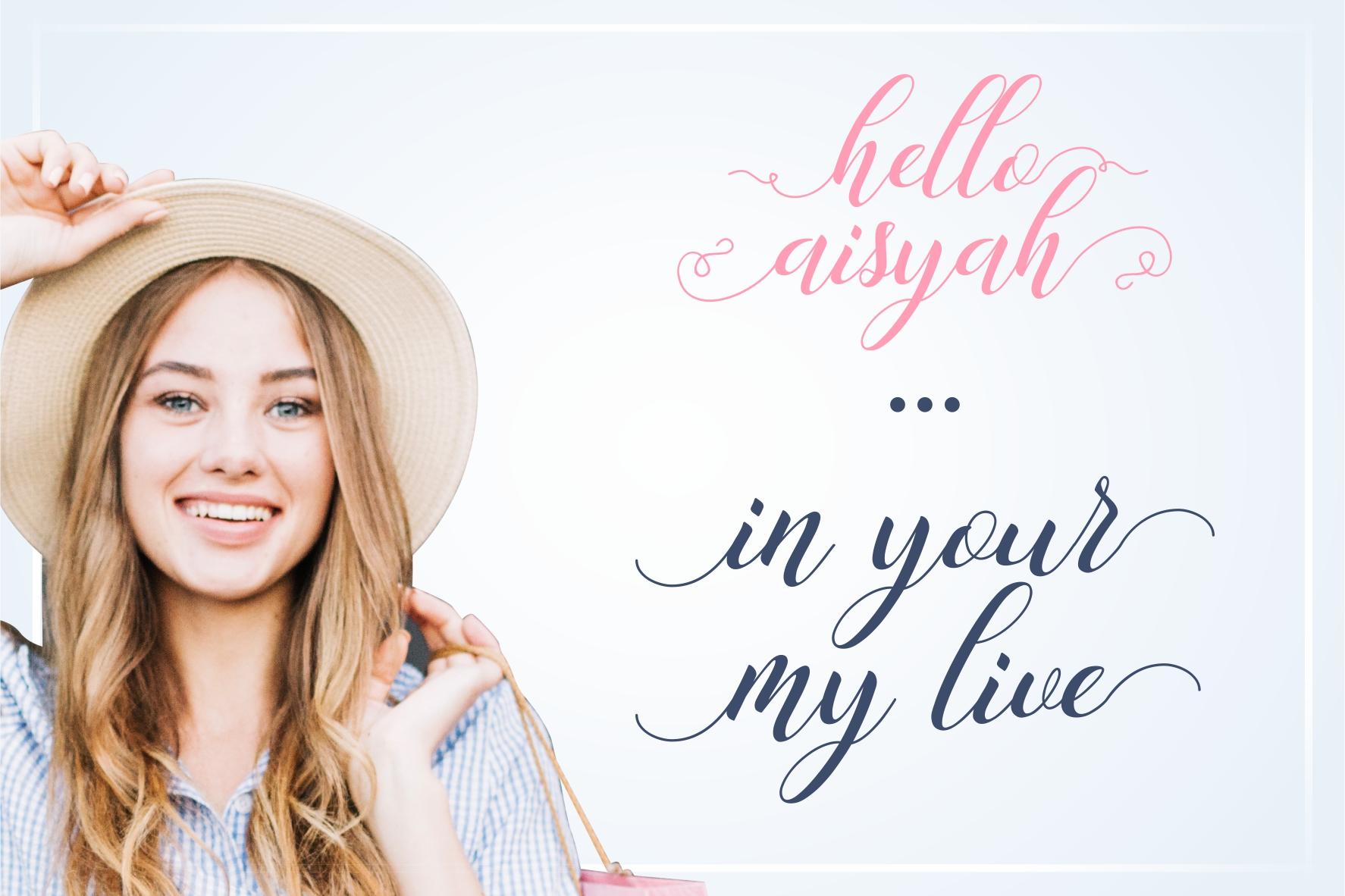 Hello Aisyah example image 4