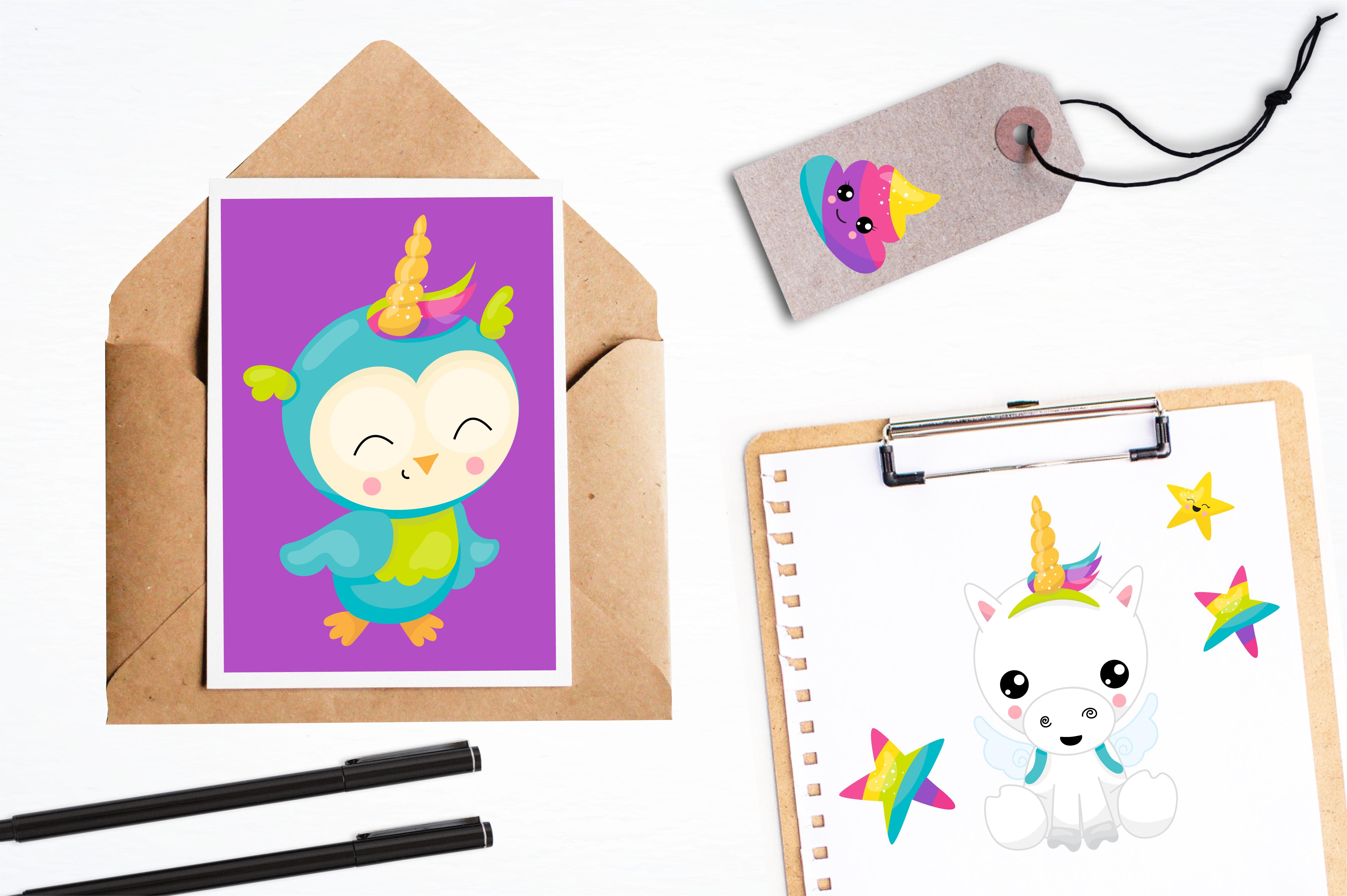Wannabe unicorn graphics and illustrations example image 4