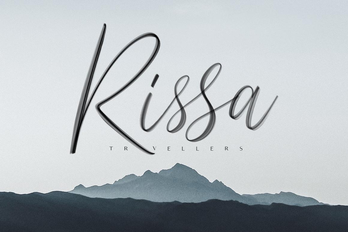 Seirra Typeface (Brush Font & Serif Font) plus SVG Font example image 3