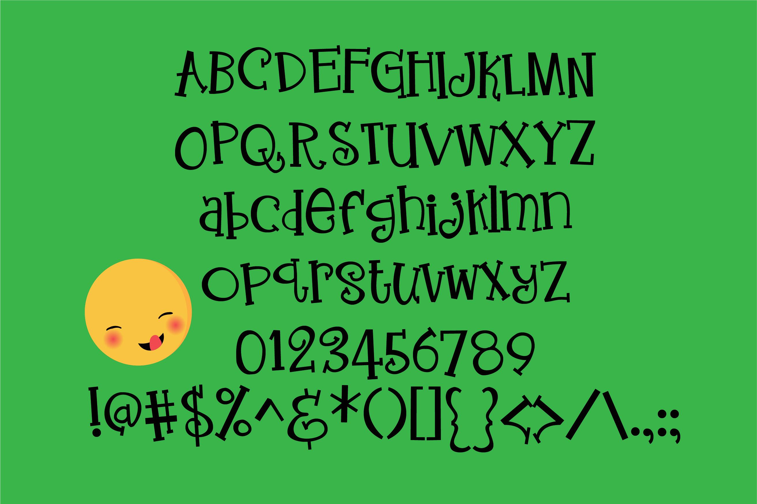 ZP Enthusiasm Serif example image 2