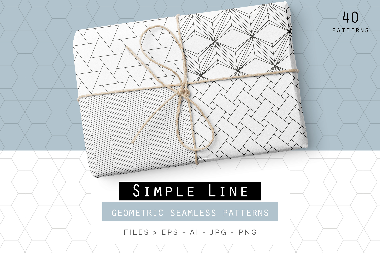 Simple line patterns