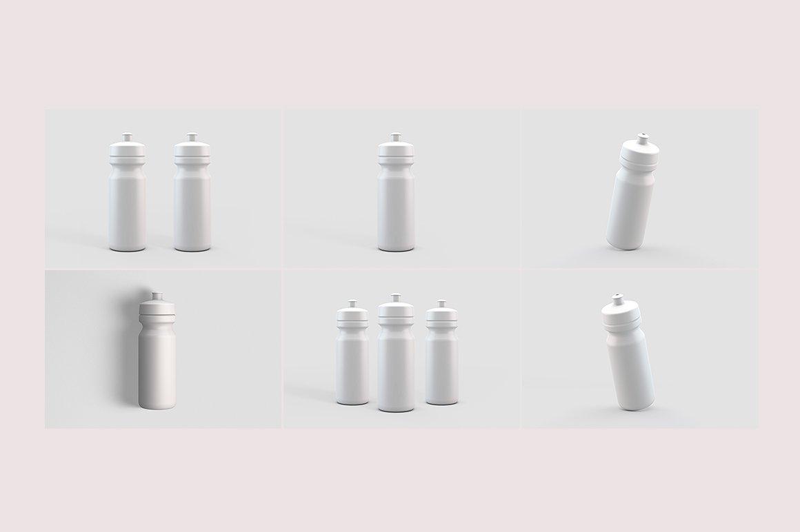 Sport Water Bottle Mock-Up example image 9