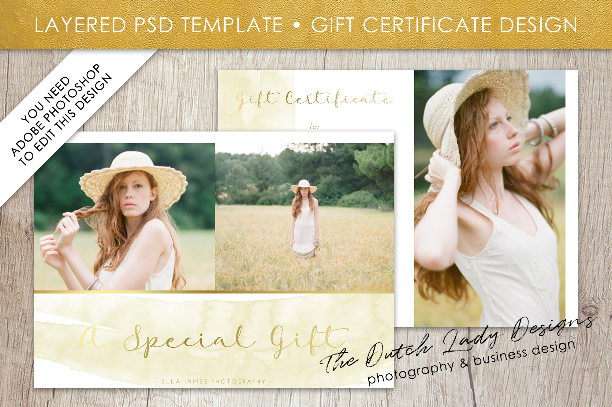 photo gift card template for adobe photoshop layered psd template design 30 example