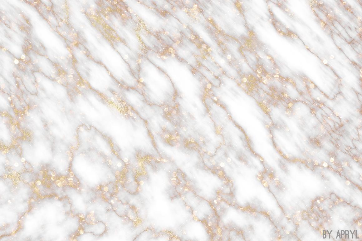 Rose Gold Marble : Gold and rose marble digital paper design bundles