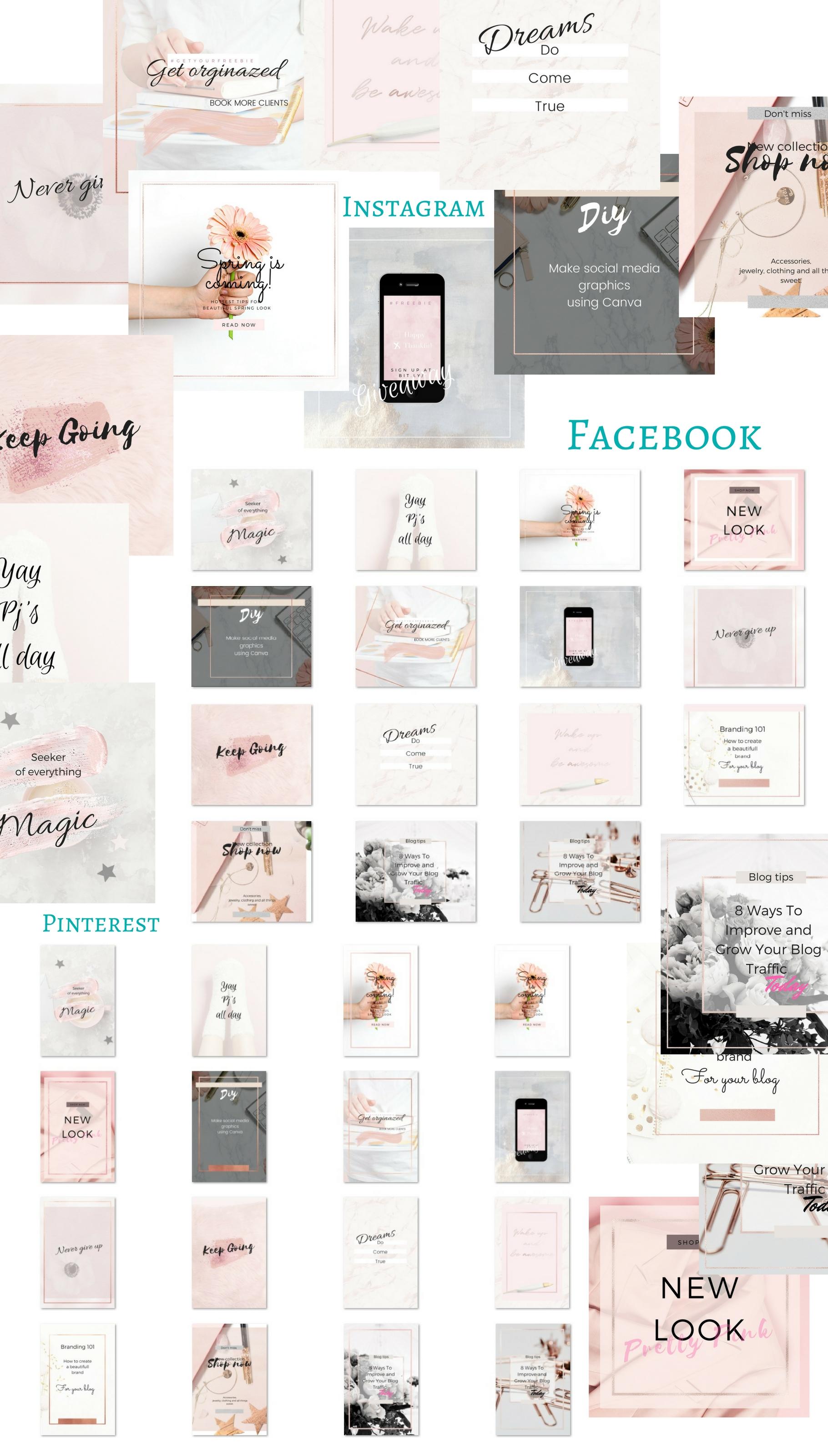 CFY - Sweet pink Social media example image 7