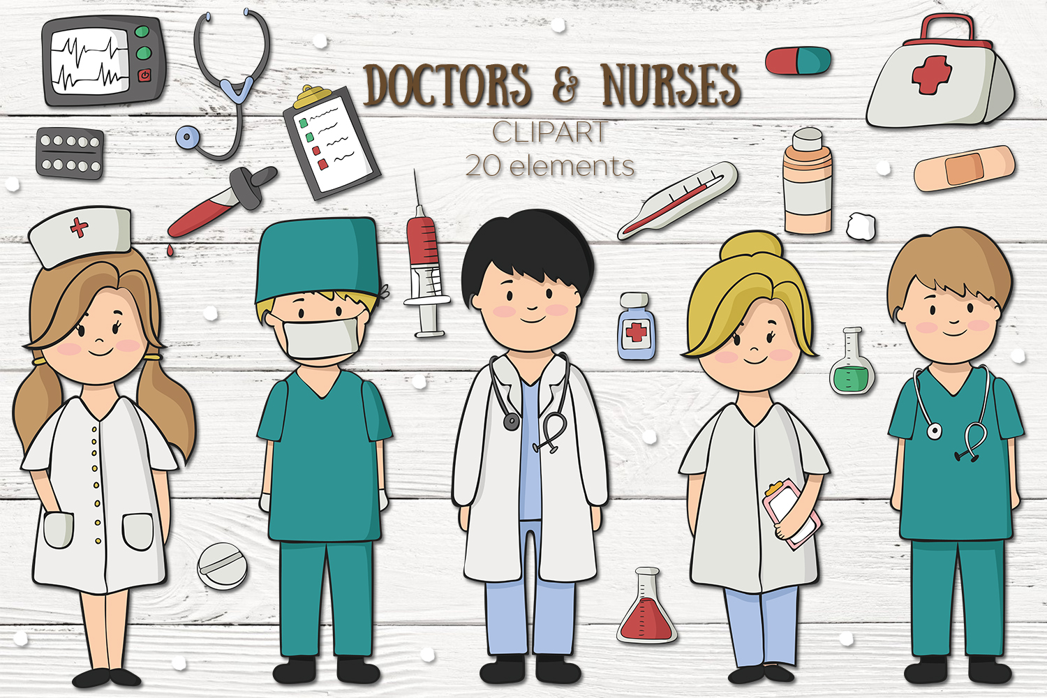 Doctors and Nurses example image 1