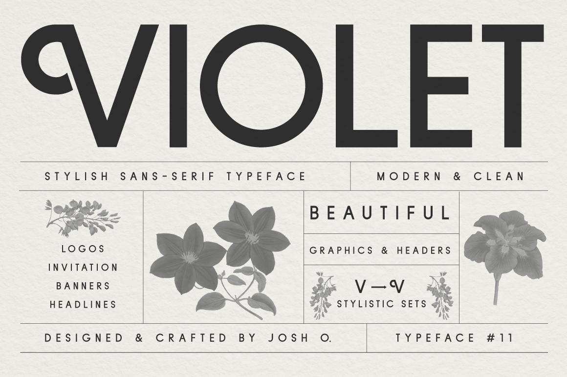 Sans Serif Typeface Collection example image 6