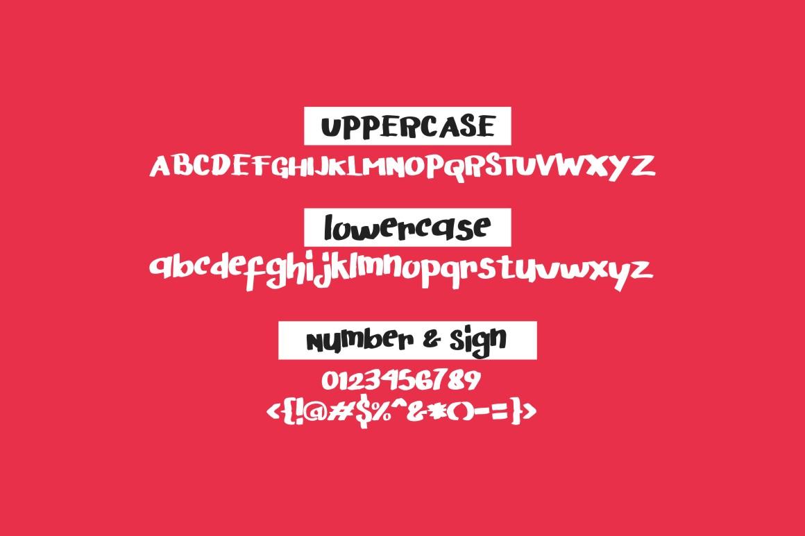 Arigato Handwritten Font example 2