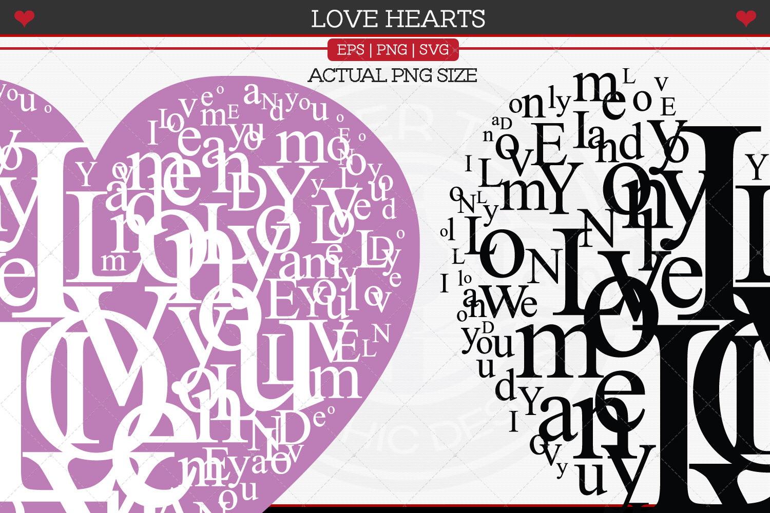Love Hearts example image 2