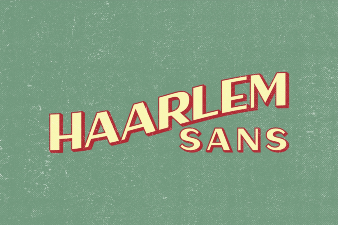 Haarlem Sans example image 7