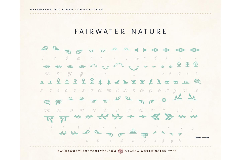 Fairwater DIY Lines example image 26