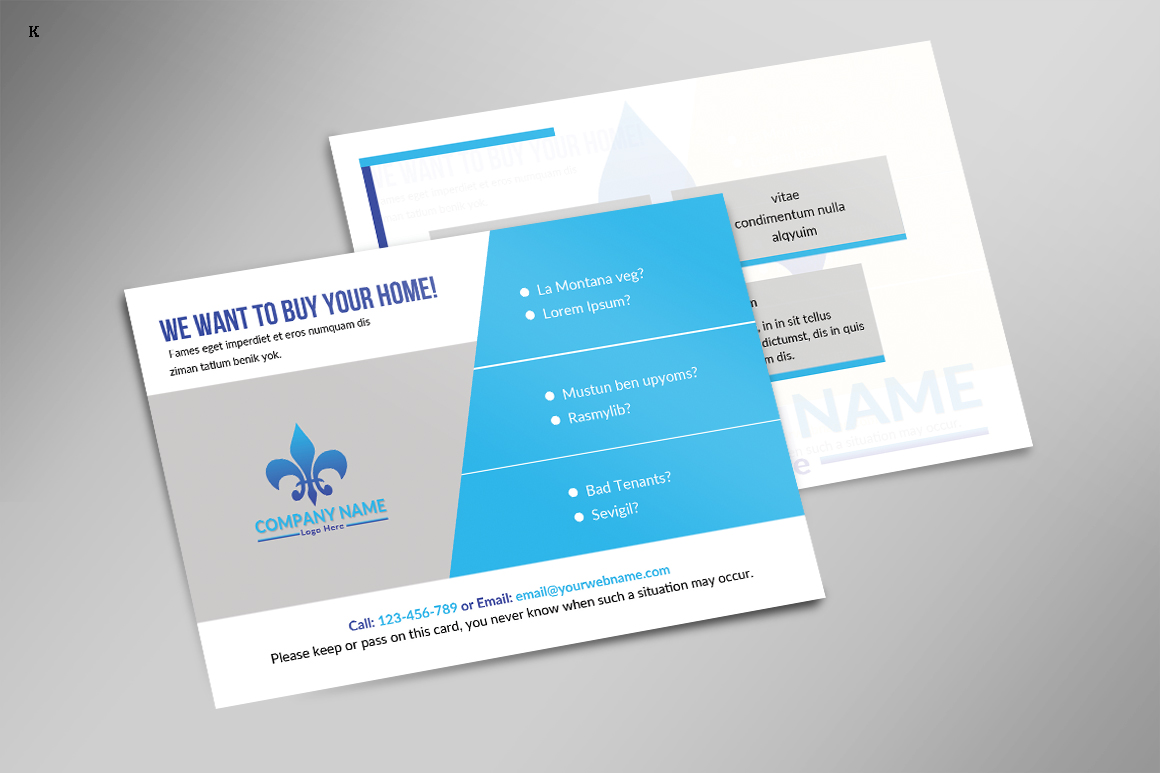 Business postcard template by pro design design bundles business postcard template example image 2 fbccfo Gallery