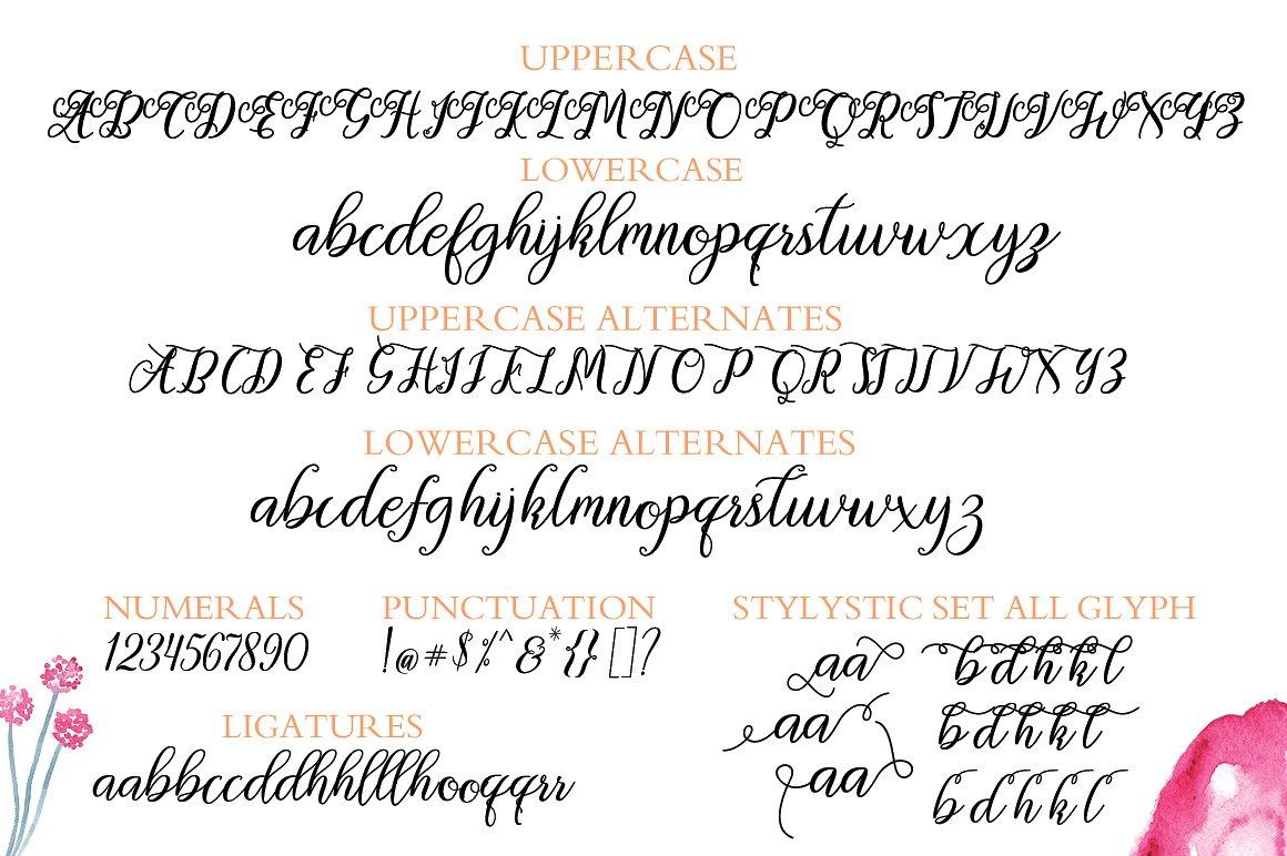 Orlintia Script  example image 6