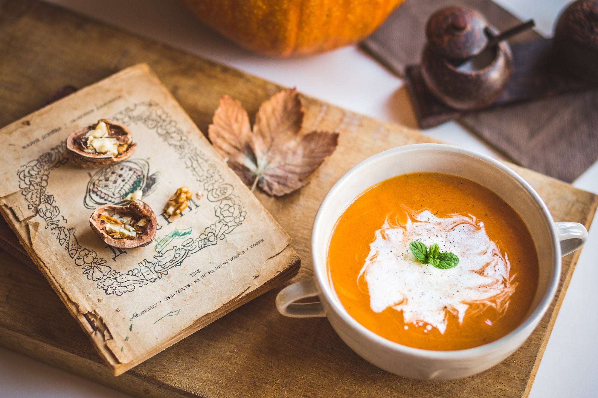 Homemade Pumpkin Soup example image 1