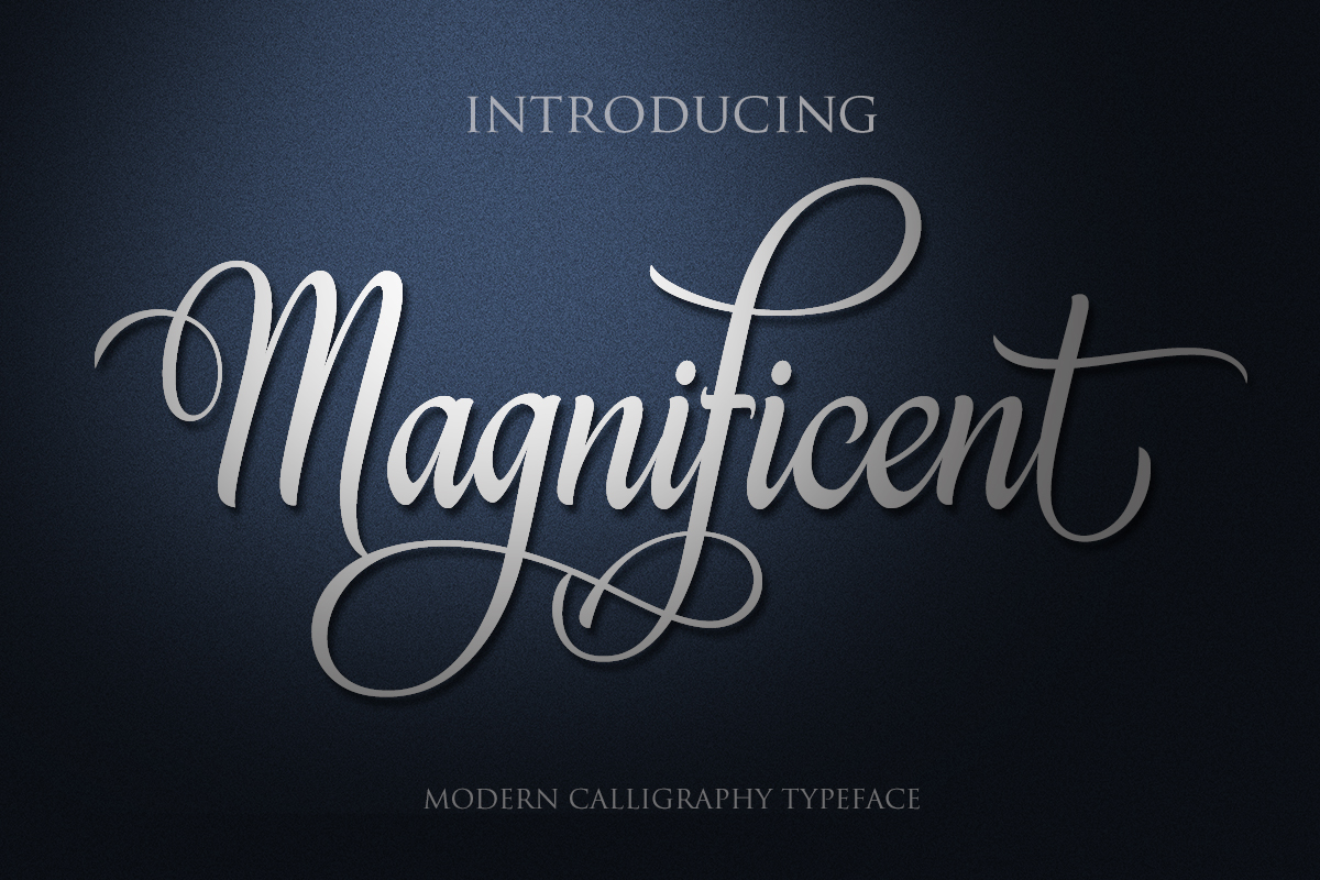 Magnificent example image 1