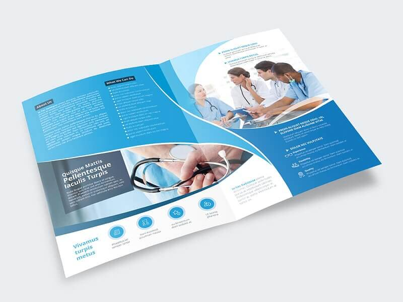 Healthcare Brochure Template By Vectogr  Design Bundles