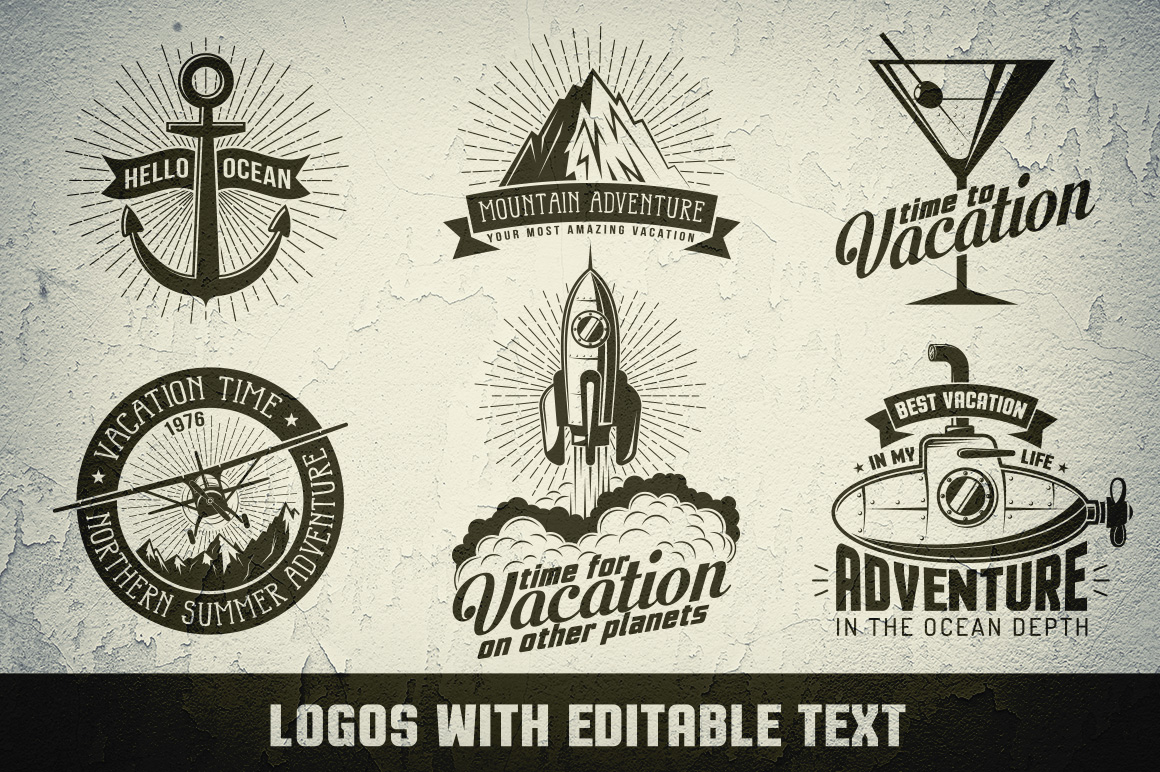 Vacation Adventure Travel logo example image 3