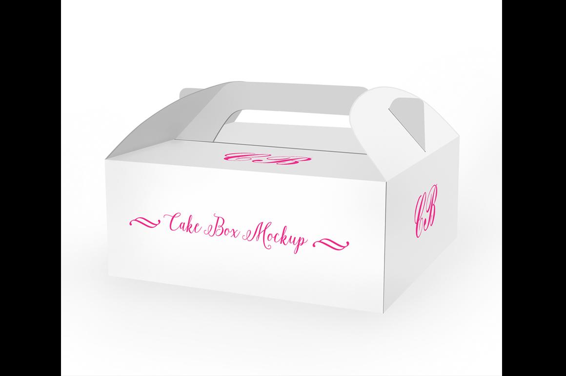 Cake Box Mockup example image 2