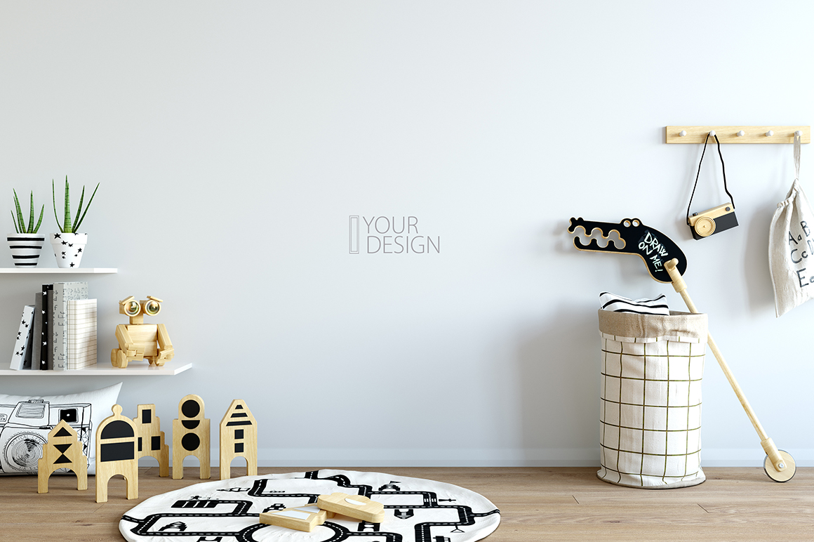 KIDS WALL & FRAMES Mockup Bundle - 2 example image 3