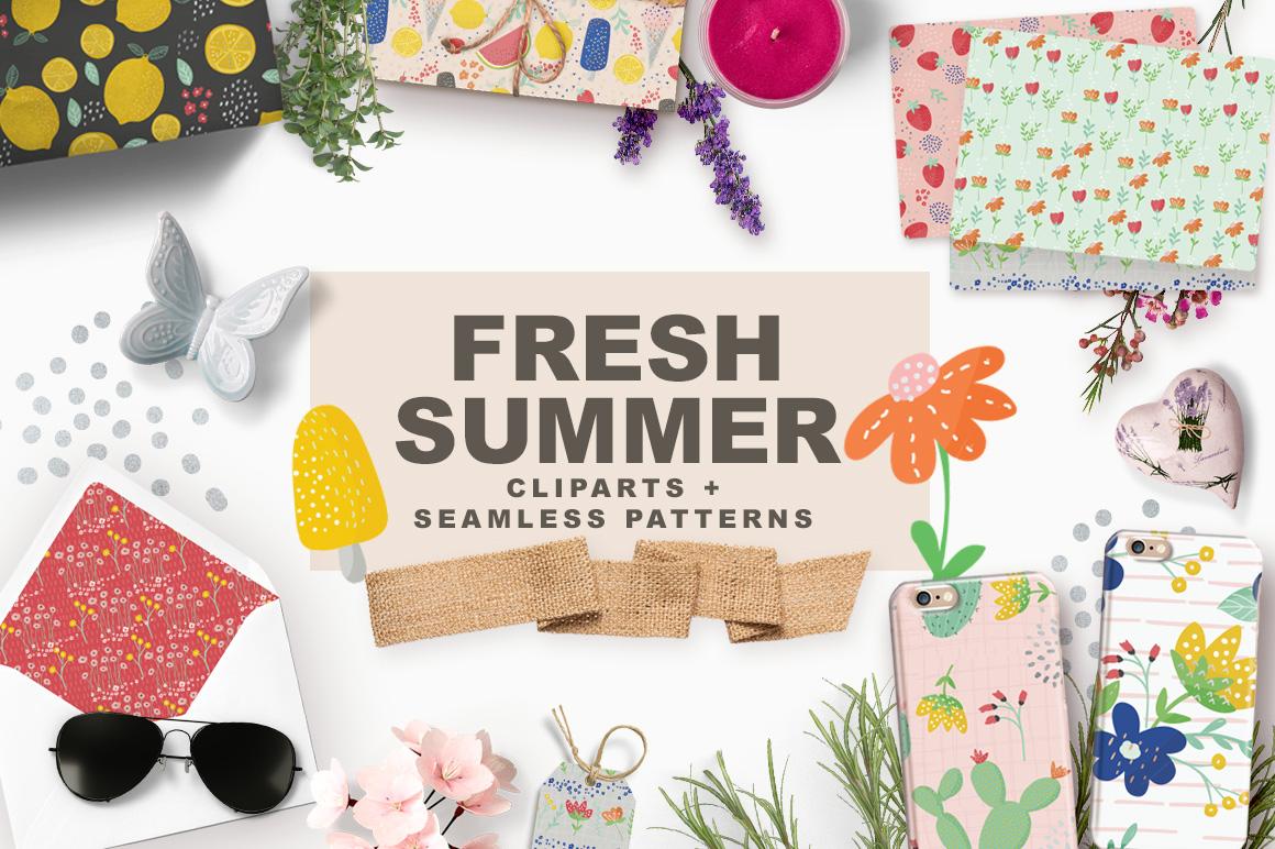 Fresh Summer Patterns example image 4